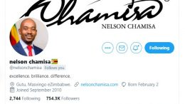Why Chamisa has lost his Twitter verification tick?