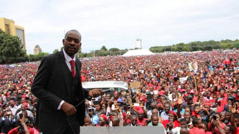 Chamisa: Inability to solve our differences costing us opportunities